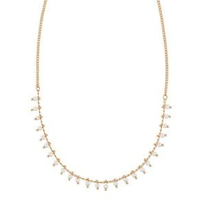Pearly Droplets Short Necklace